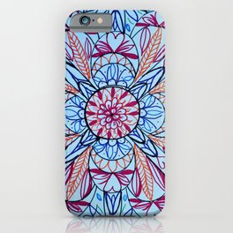 Markers And Mandala Fun iPhone Case