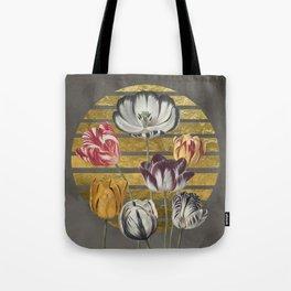 Dramatic Tulips Tote Bag