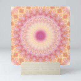 Mandala sunbeam Mini Art Print