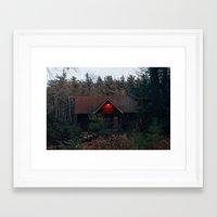 cabin Framed Art Prints featuring Cabin by Brian Cardinal
