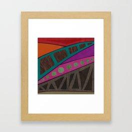 remember to be alive Framed Art Print