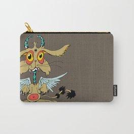 Evil Flying Feline Jackalope  Carry-All Pouch