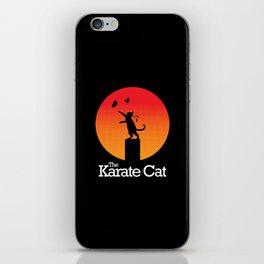The Karate Cat iPhone Skin