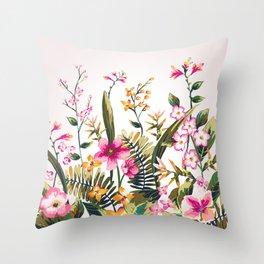 Flowers -a100 Throw Pillow