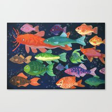 Little Fishies Canvas Print