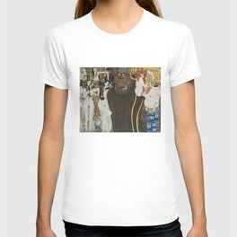 BEETHOVEN FRIEZE - GUSTAV KLIMT T-shirt
