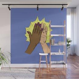 high five!!!! Wall Mural