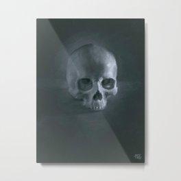 Skull Still life Metal Print