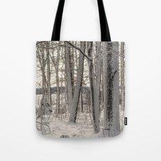 Snow Oak Tote Bag