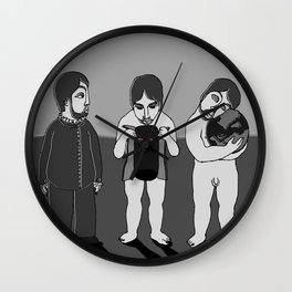 I, me, mine Wall Clock