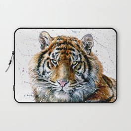 Tiger watercolor Laptop Sleeve