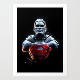 Man Of Steel 1 Art Print