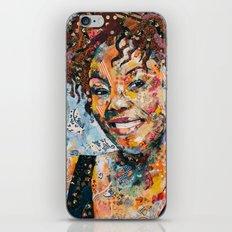 African woman iPhone & iPod Skin