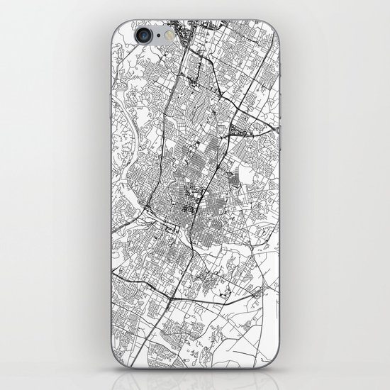 Austin White Map by multiplicity