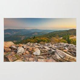 Spruce Knob Mountain Sunset Rug