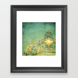 Gold Framed Art Print