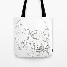 Vamp Skull Tote Bag