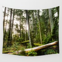 forrest Wall Tapestries featuring Forrest by ILIA PHOTO + CINEMA