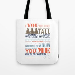 Large – All I Want Is You Tote Bag