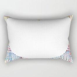 The System - large heart Rectangular Pillow