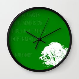 Lived Long and Prospered Wall Clock