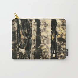 Night Trees #Abstract #acrylic #Society6 Carry-All Pouch