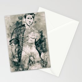 Mythos: Open Shirt Stationery Cards