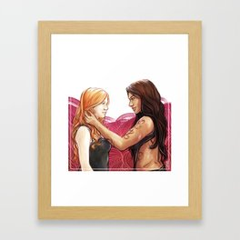 Clizzy Framed Art Print