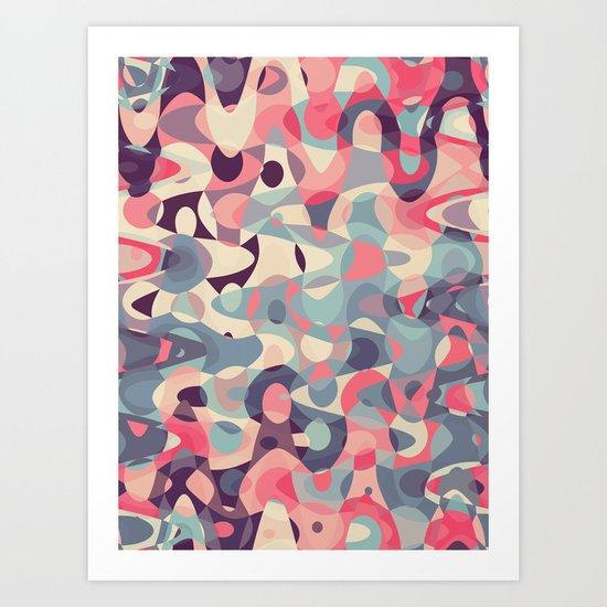 Poison Apple Tumble Art Print