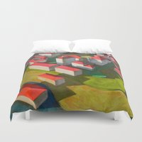 model Duvet Covers featuring virtual model by Federico Cortese