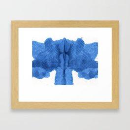 Abstract design. Framed Art Print