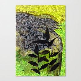 flow flower flow Canvas Print