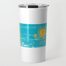Kazakhstan Gift Idea for Kazakh Travel Mug