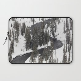 Yellowstone National Park - Lewis River 2 Laptop Sleeve