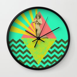 dear god, what could i wear today ?! Wall Clock