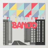 banjo Canvas Prints featuring Banjo by Nezz