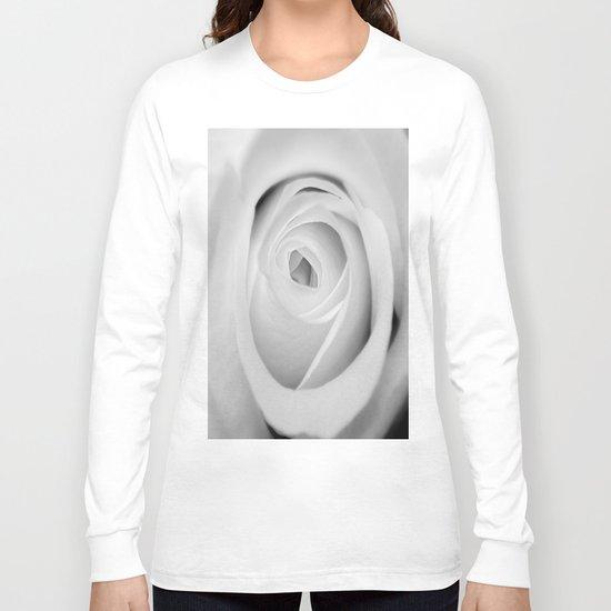BWwhite Rose 2 Long Sleeve T-shirt
