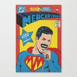 Mercuryman Canvas Print