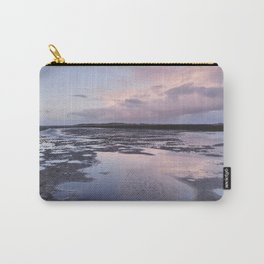 Low tide at twilight. Holkham, Norfolk, UK. Carry-All Pouch