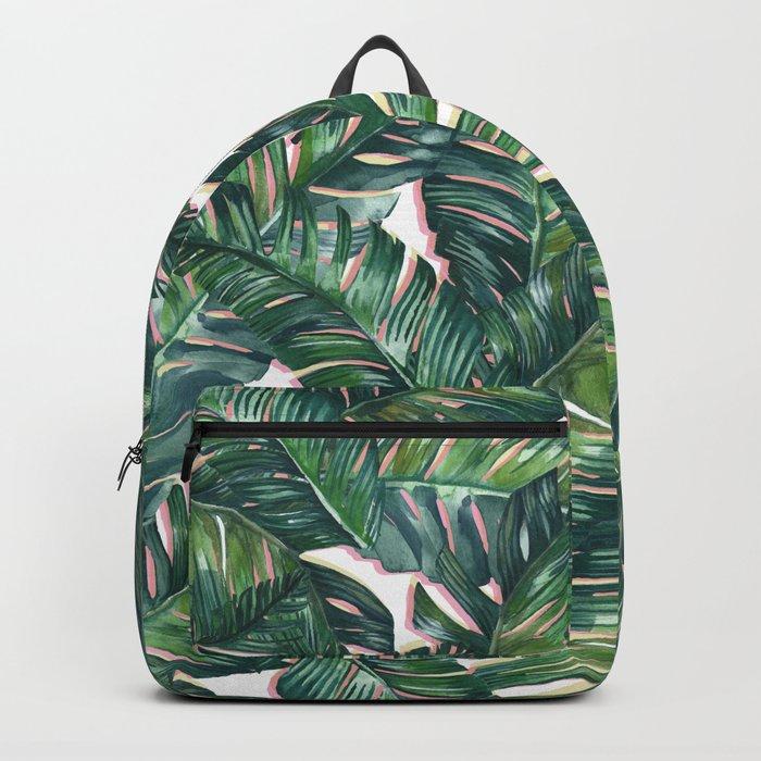 banana leaf 3 Backpack