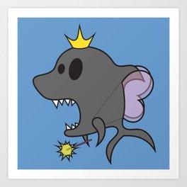 Fairy Sharkmother Art Print