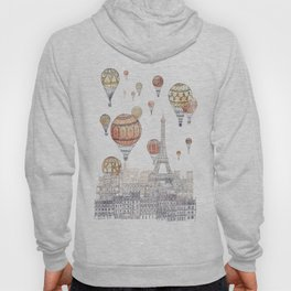 Voyages Over Paris ~ Refresh Hoody