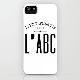 les amis de l'abc iPhone Case