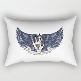 The Raven Cycle Quote Rectangular Pillow