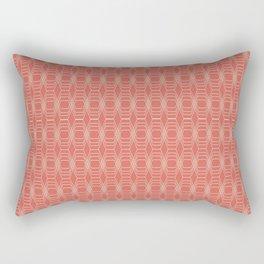hopscotch-hex melon Rectangular Pillow