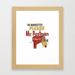 Mr. Postman Framed Art Print