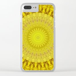 Some Other Mandala 302 Clear iPhone Case