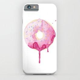 Glazed Pink Donut iPhone Case