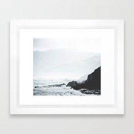 Sea Waves Seascape, Ocean Waves Photography, Sea Coast, Sea Beach Tapestry, Pillow etc Framed Art Print