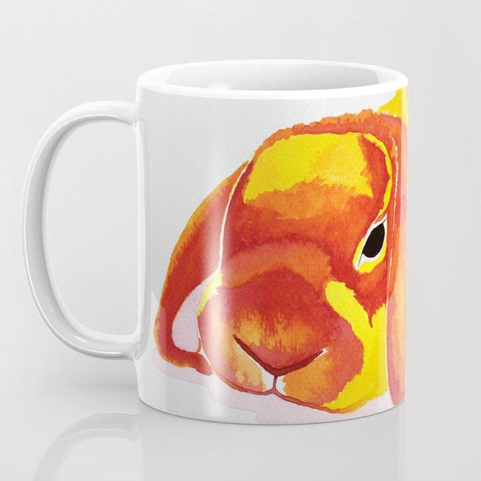 Fluffy Bunny Pillow Coffee Mug